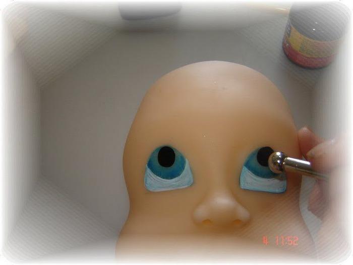 Как сделать кукле глазки фото 235