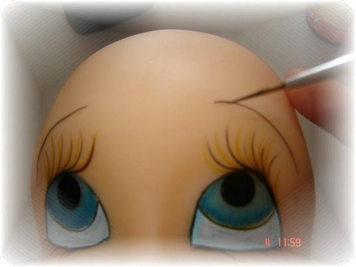 Как сделать глаз из пластика 897