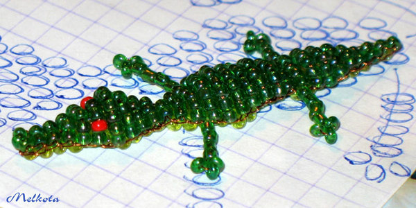 More Picture For free 3 d beading pattern instructions and beading community website.