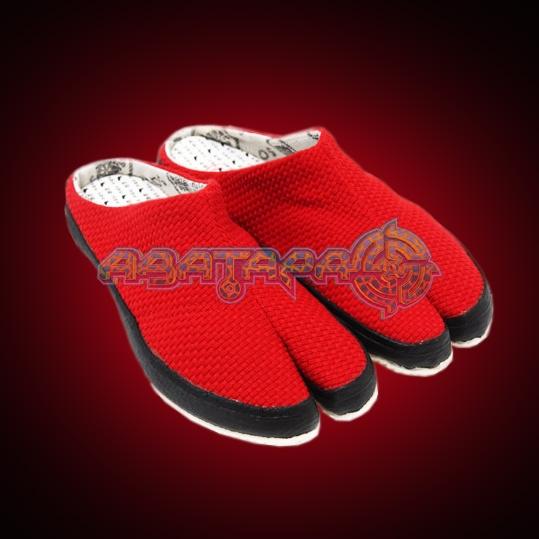 НИНДЗЯ-ШУЗ Ниндзя-шлёпки Шлепки red.