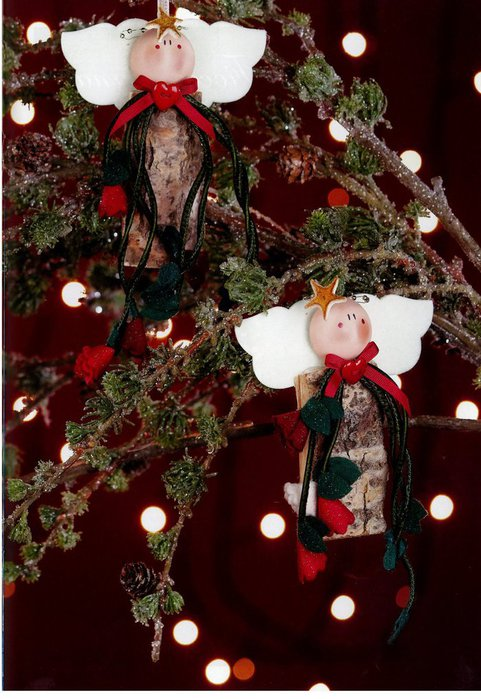 christmas felt crafts  making angel  christmas wearth
