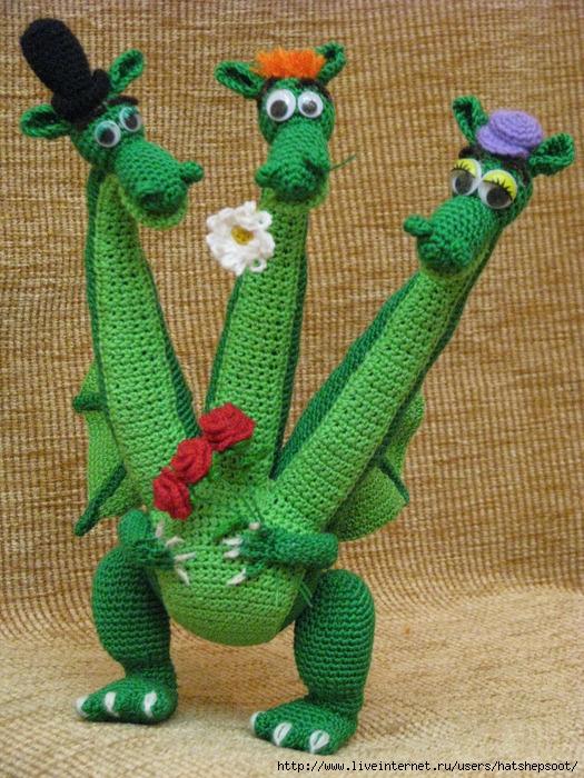 Змей горыныч своими руками фото