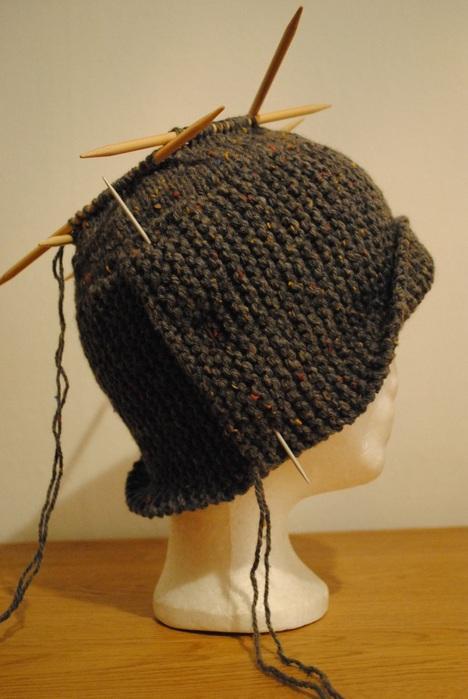 Связать шляпка робин