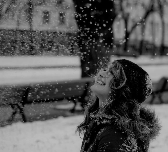 падает снег музыка онлайн