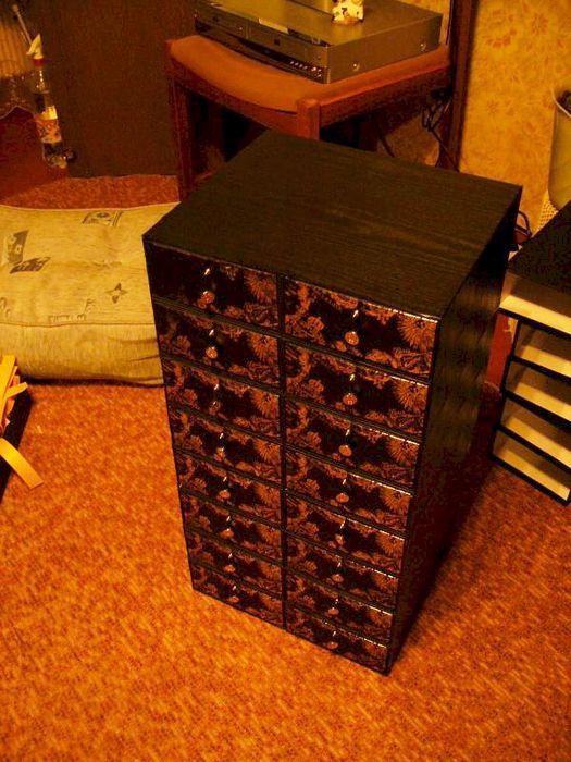 Комодик из коробок своими руками 794