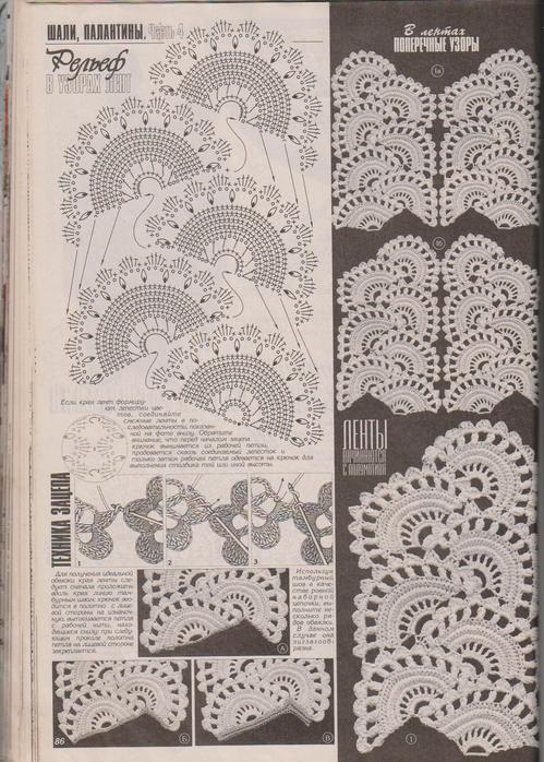 Дуплет журнал по вязанию ленточное кружево 48