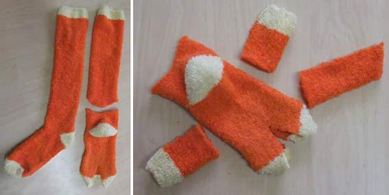 Носки своими руками фото