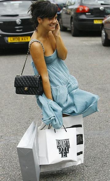 Лили Аллен для Chanel.