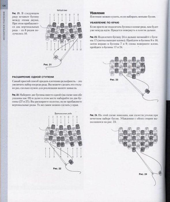 Автор: Admin Дата: 29.10.2013 Описание: Базовые техники бисероплетения Изделия из Бисера.  Фенечки.
