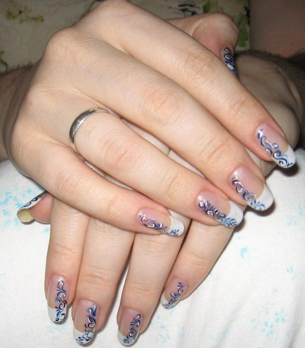Видео простые рисунки для ногтей