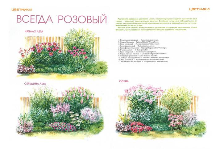 Схемы цветника на даче своими руками