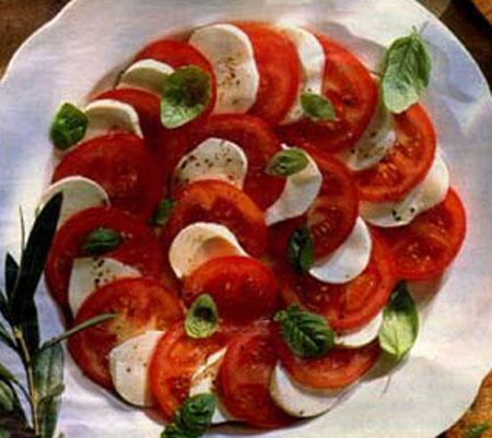Компоненты к рецепту 6 помидоров 1 луковица 100 гр. твердого сыра 1 столовые ложки измельченного укропа 4 ст...