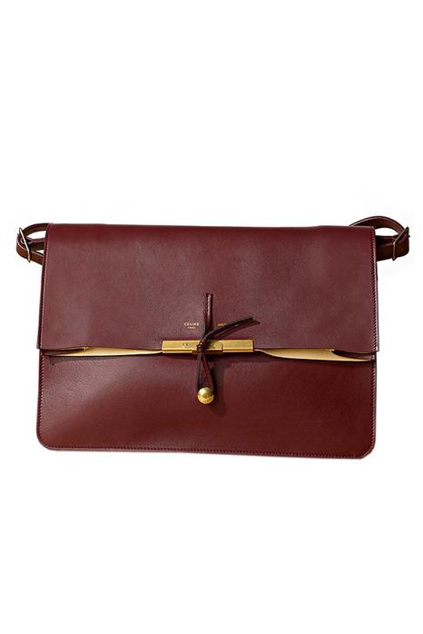 сумка кожа коричневая celine.