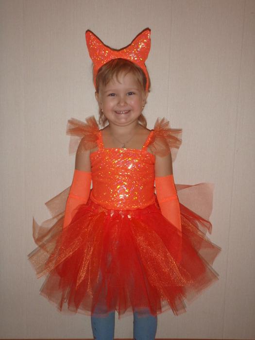 Новогодние костюм лисы своими руками