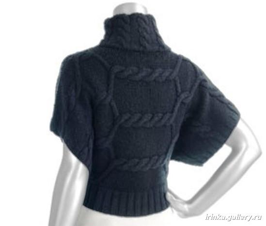 жилеты спицами схемы - Лучшие концепции стиля и моды.