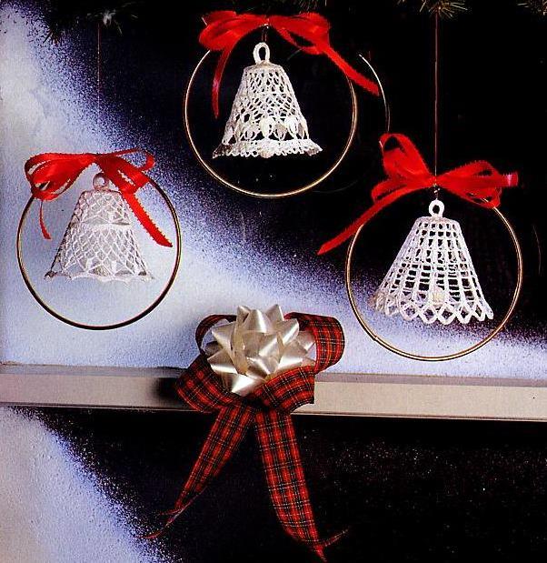 свой цитатник или сообщество!  На новогодней ёлке-колокольчики крючком.  Прочитать целикомВ.