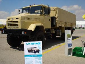 КрАЗ заинтересовал потенциальных партнеров на SOFEX-2008