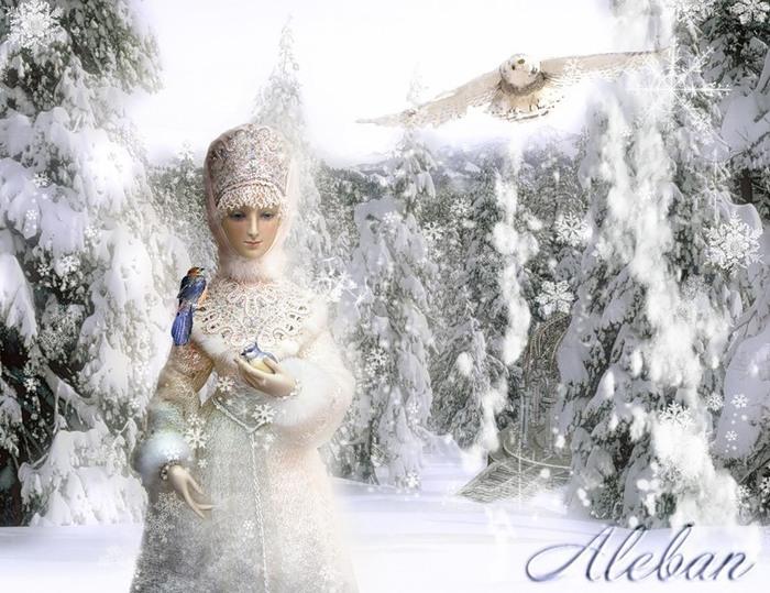 Костюм зимы зимы