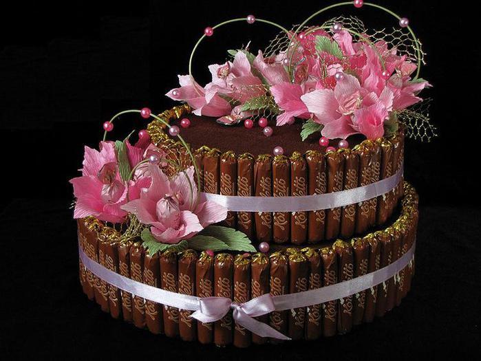 Торт букет своими руками