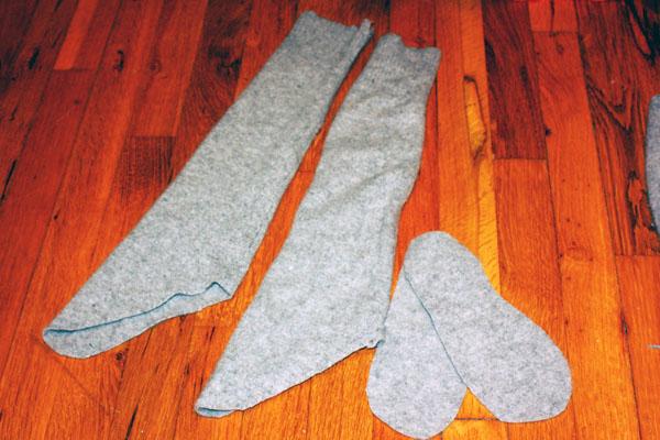 Как пошить носки