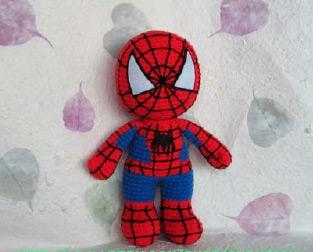 Человек паук вязать