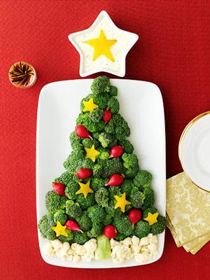 ...такая же новогодняя овощная тарелка, рекомендуем выложить ее при...