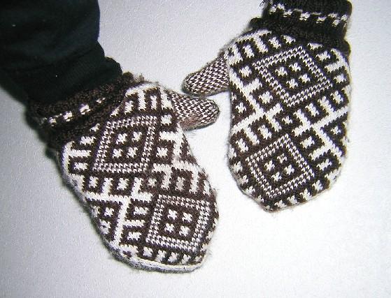 узоры косы для вязания спицами со схемами для варежек.