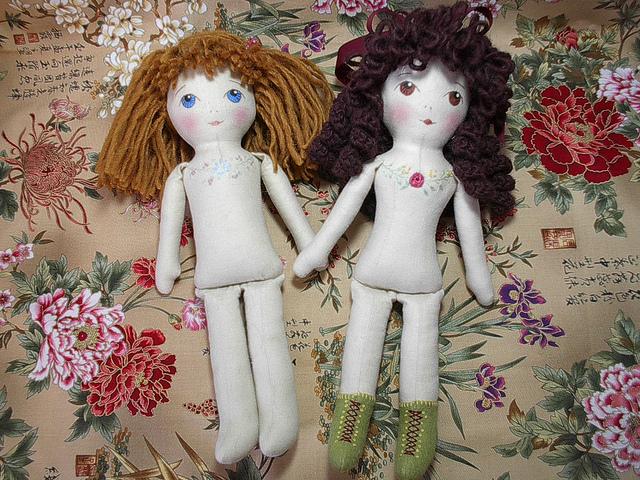 Как сшить красивую куклу своими руками фото