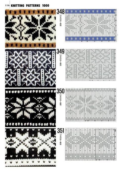 ...норвежский узор, норвежские узоры, узор, узоры, вязание, вязание на спицах, схемы вязания, схемы норвежского узора.