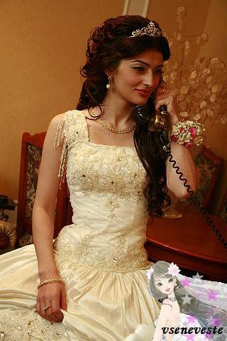 Прически на кавказских свадьбах