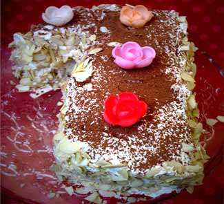 Французский торт Марджолайн, выпечка. Пошаговый рецепт с фото
