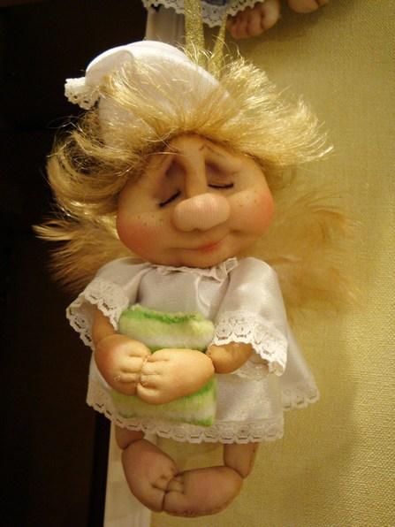 Новые бесплатные мастер классы куклы из капрона своими руками
