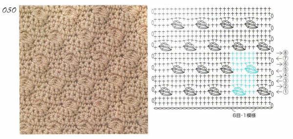 Вязание крючком узоры для плотного вязания