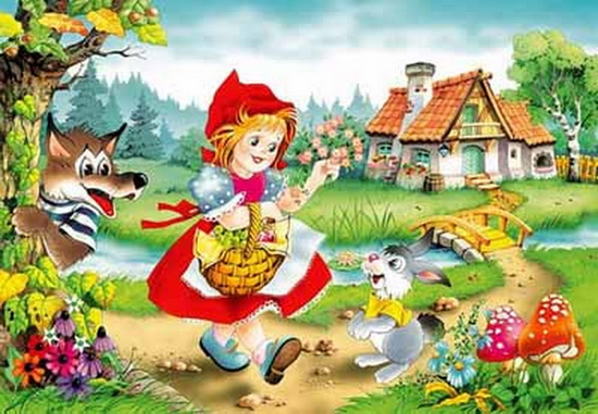 """Красная шапочка"" (сказка для малышей) 68787772_00dfe901f8e9"