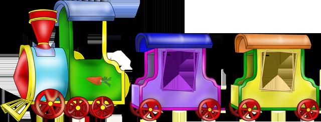 Детская раскраска. Паровозик с вагончиками для мальчиков