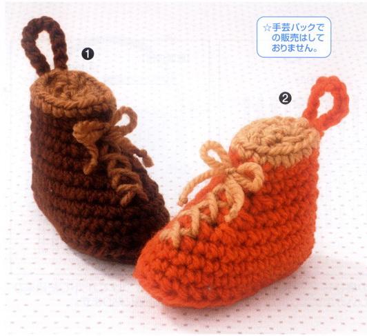 Вязание туфелек крючком для кукол