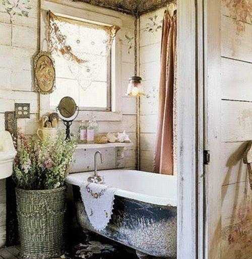 стиль кантри в ванной комнате. ванная в стиле кантри.