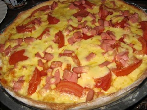 Рецепты пиццы с колбасой в домашних условиях пошагово