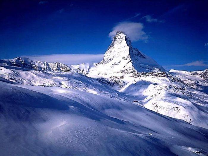 Где находится горная вершина