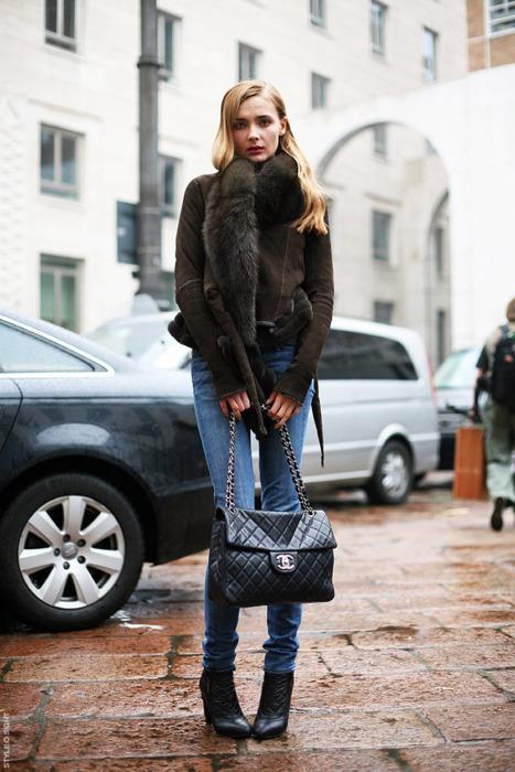 Уличная мода - тепло и модно!