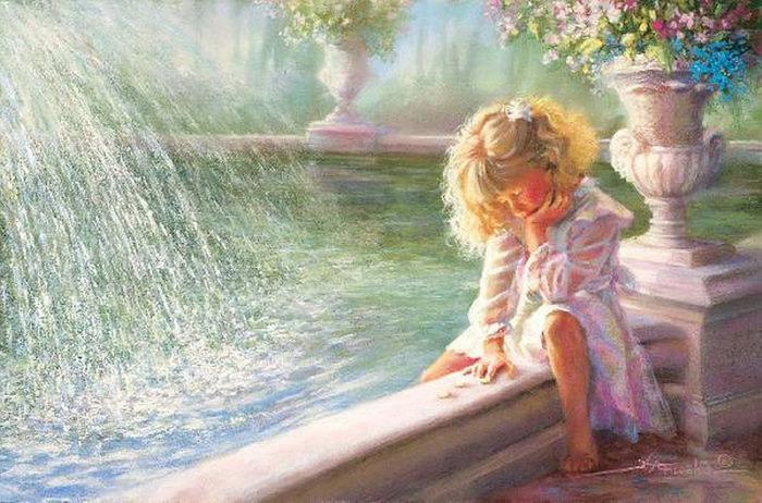В раннем детстве Кэтрин начала проявлять склонность к рисованию, и её мать, сама художница, всячески поощряла дочь.