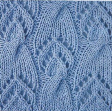 Knitting Patterns 500 (Узоры и схемы для вязания спицами. орнамент.