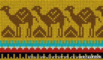 Схемa для вышивки Орнаменты Африка. header=Схемa для вышивки Орнаменты Африка body=b Размер/b: 345 x 200 (64.22 Kb)...