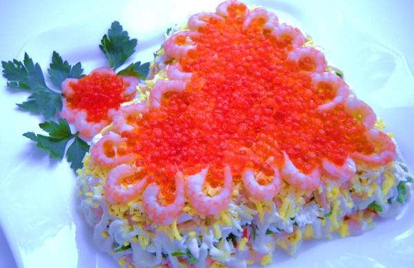 Праздничные салаты с фото