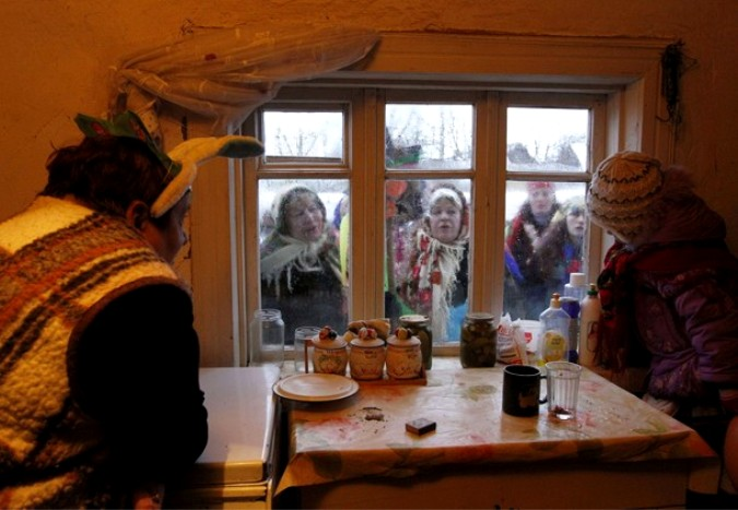 Что делают на рождество в деревне