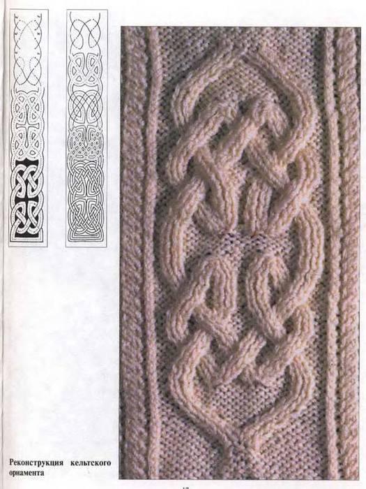 Аранское вязание. Схемы.