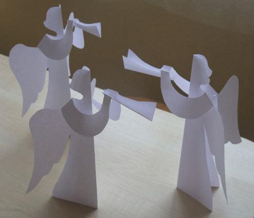 салфеток ангел - Поделки,
