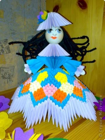Схемы Оригами. Кукла-1.