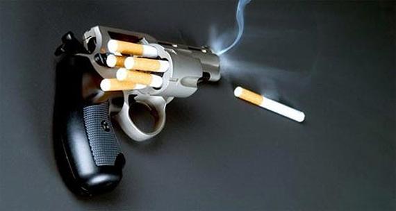 Алкоголь и никотин, основные токсины вредных привычек -