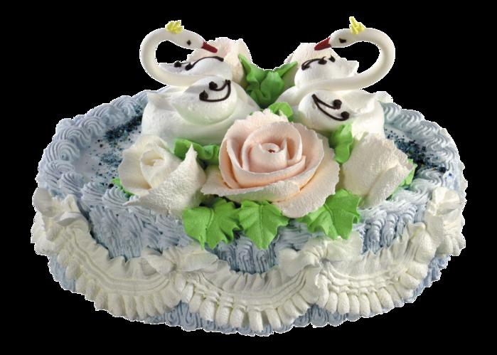 Свадебные торты из сливок фото 10